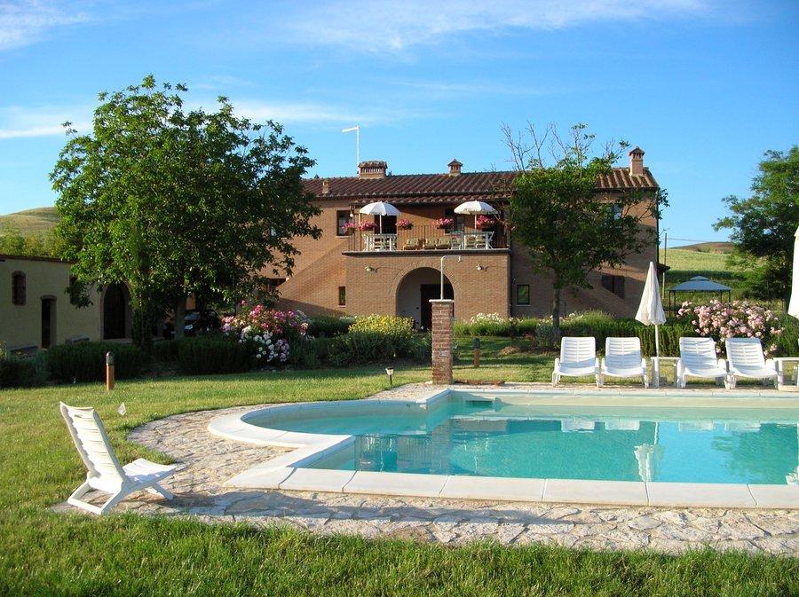 Agriturismo Il Poderino A Asciano Siena Toscana