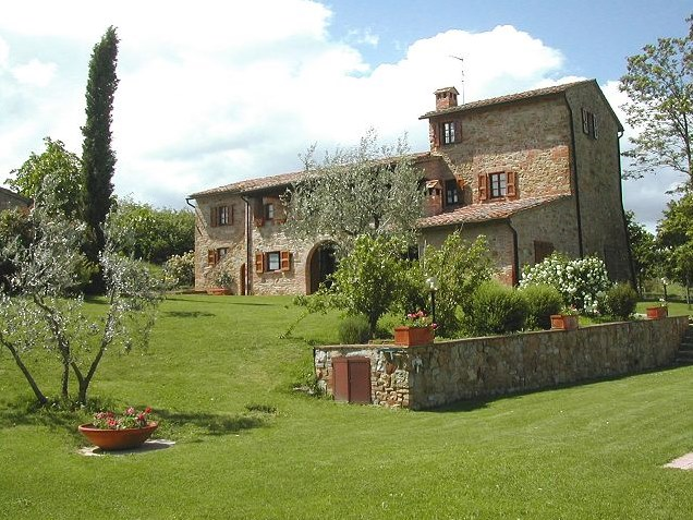 Agriturismo casagrande montepulciano siena tuscany - Rideaux maison de campagne ...