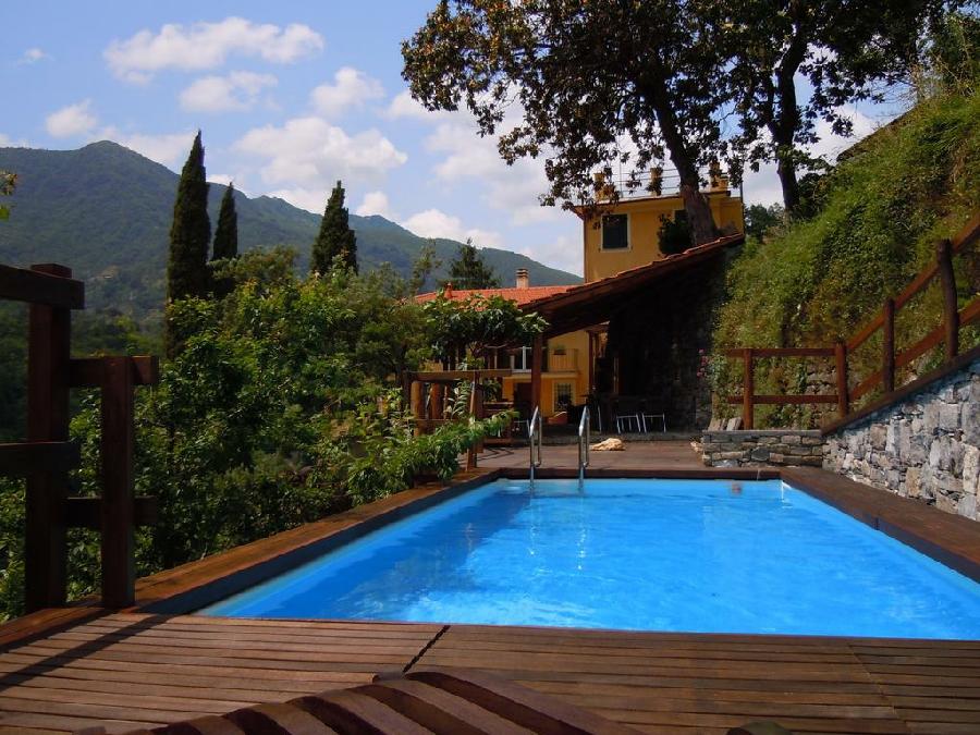 Agriturismo casa del bosco borzonasca genoa liguria for Agriturismo asiago con piscina
