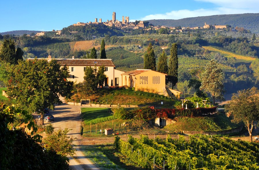 opinions and reviews on la lucciolaia at san gimignano (si) - tuscany, Hause ideen