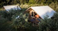 Luxury Tent, Glamping con hot tub e giardino privato - Agriturismo Eco Organic Resort and Luxury Glamping Sant'Egle