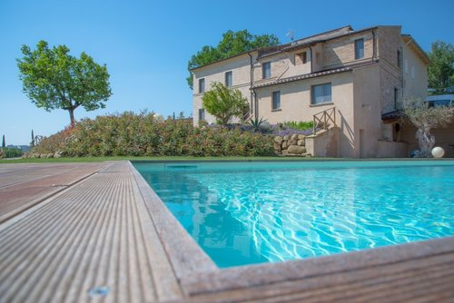 Farmhouse with pool and wonderful garden - Petriolo
