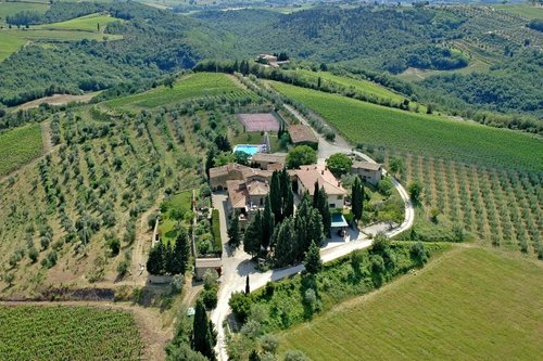 Accommodation Authentic agriturismo in the heart of Chianti Clas