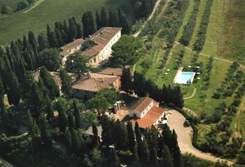 Accommodation Farm with pool in Chianti
