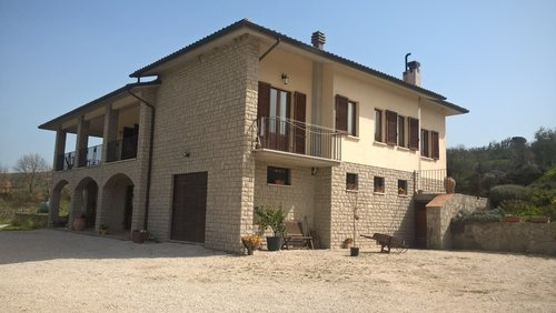Accommodation Farmhouse with pool and restaurant