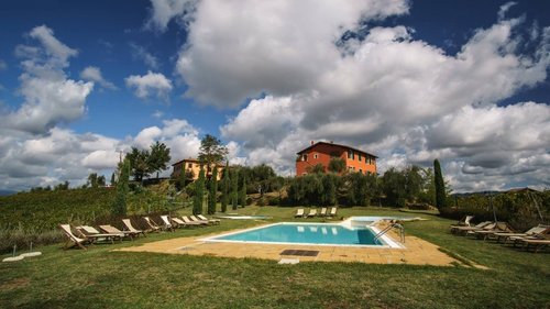 Accommodation Farmhouse with pool between Pisa and Florence