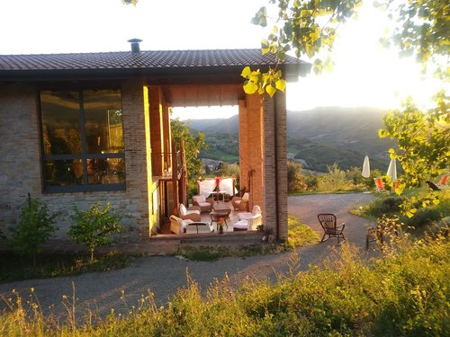 Old farmhouse in stone: rooms, pool, Jacuzzi, turkish bath - Pellegrino Parmense