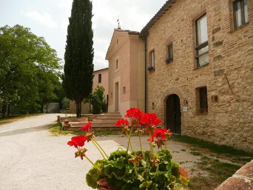True farmhouse with panoramic views on the Umbrian hills - Amelia