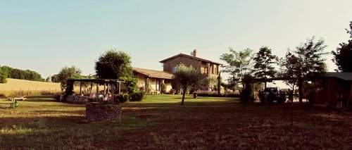 Gorgeous old farmhouse in ancient stone - Montefiascone
