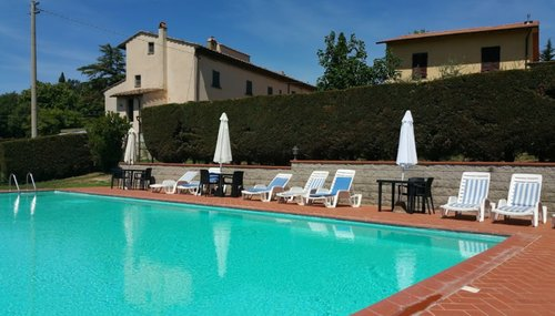 Accommodation Farmhouse situated in the Chianti 25 km from Flore