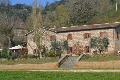 Old farmhouse in the park of the Treja Valley - Civita Castellana