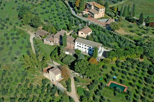 Countryside villa with panoramic pool - Siena