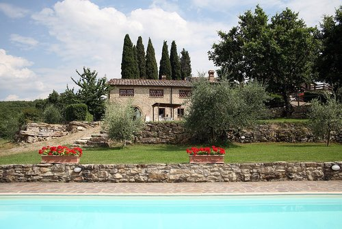 Accommodation Farmhouse with pool in the Chianti hills