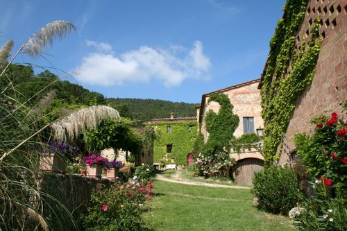 Accommodation Podere charming between the Crete Senesi and the V
