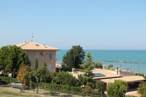 Farmhouse overlooking the beach with organic farming - Campofilone