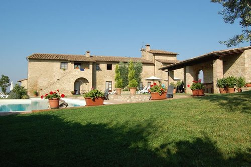 Accommodation Apartments on the sweetest hills of Tuscany
