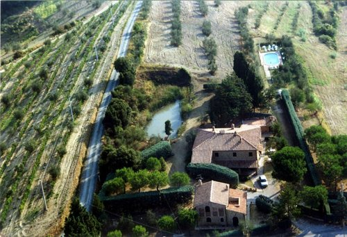 Tuscan farmhouse with swimming pool - Montaione