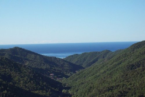 Farmhouse with lovely views of the Ligurian Sea - Stella