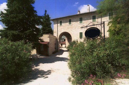 Farmhouse in the green heart of Italy, surrounded by olive trees. - Foligno