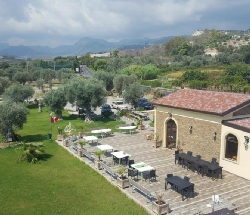 Surrounded by secular olive groves and a verdant valley. - Bianco