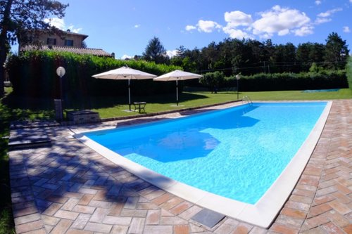 Charming villa with park and pool just 5 mins from the center - Gubbio