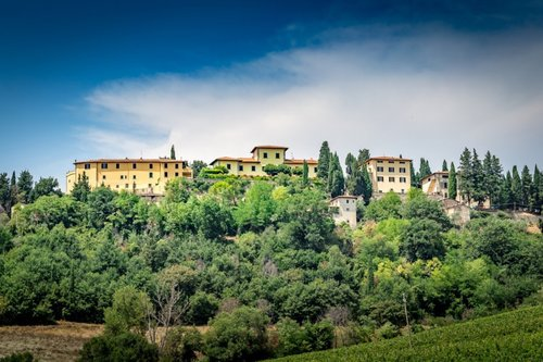 An enchanted hamlet in Chianti Classico, dating back to the year 1000. - San Casciano in Val di Pesa