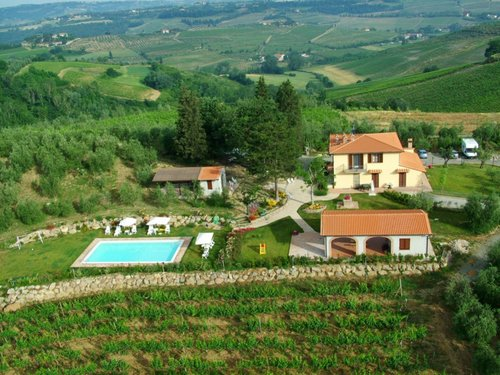 Holiday in Agritourism in the heart of Tuscany - San Gimignano