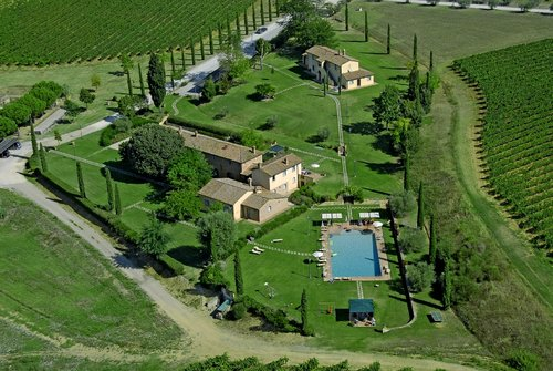 Elegant farmhouse in the province of Siena - Montepulciano