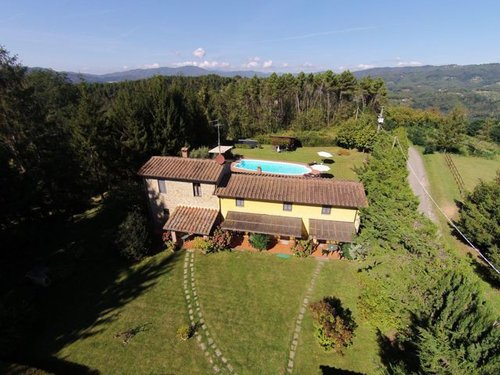 Cottage with pool and riding stables - Uzzano
