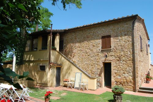 House with 3 rooms with private garden and swimming pool - Montaione