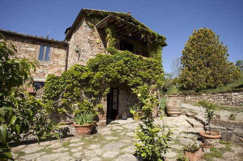 Farmhouse in the Chianti completely surrounded by nature - Radda in Chianti