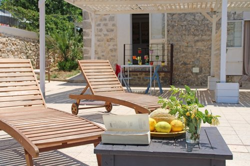 Terrace over the olive trees - Scicli