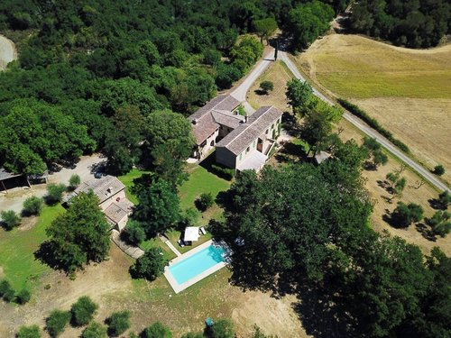 Exlusive private Tuscan hamlet - 16 guest private pool - Buonconvento