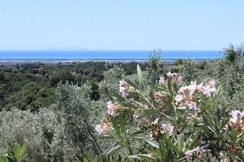 Detached house in sea view and quiet location - Casale Marittimo