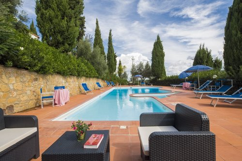 Holiday homes with pool close to San Gimignano - Montaione
