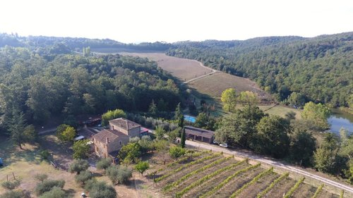 Farmhouse in the hills of Siena in an oasis of pure beauty - Rapolano Terme