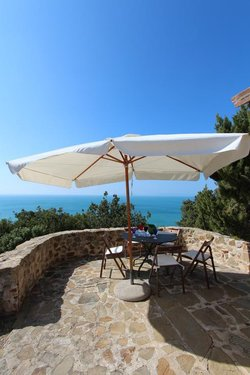 Apartment with sea view and on the Castle of Rocchette - Castiglione della Pescaia