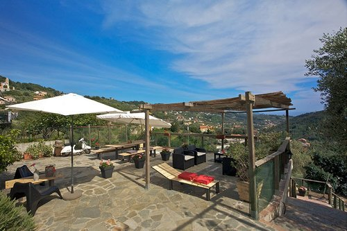 Farmhouse OlivArancio with sea view - Leivi
