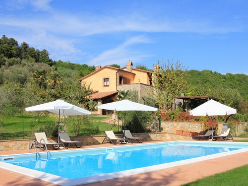 Farmhouse Parzalla - with pool in the countryside of Orvieto - Ficulle