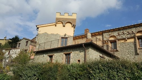 The Castle of the Fornaci - Arcidosso