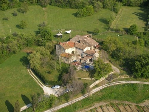 Organic Farmhouse with Restaurant - Arcidosso