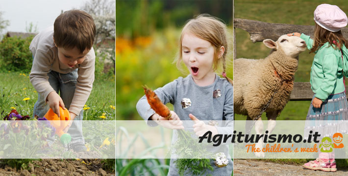Children's Week: free stay at an agriturismo!