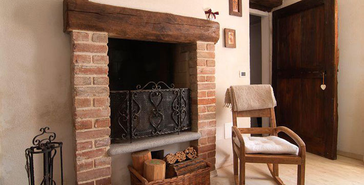 Agriturismi with fireplace